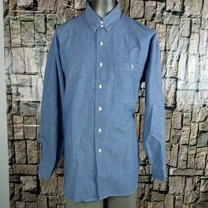 Ralph Lauren Long Sleeve Blue Jean Denim Shirt